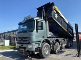 kipper vrachtwagen Mercedes-Benz ACTROS 5044 AK 10X8 FULL STEEL + AJK 24,5 M3 KIPPER 2011