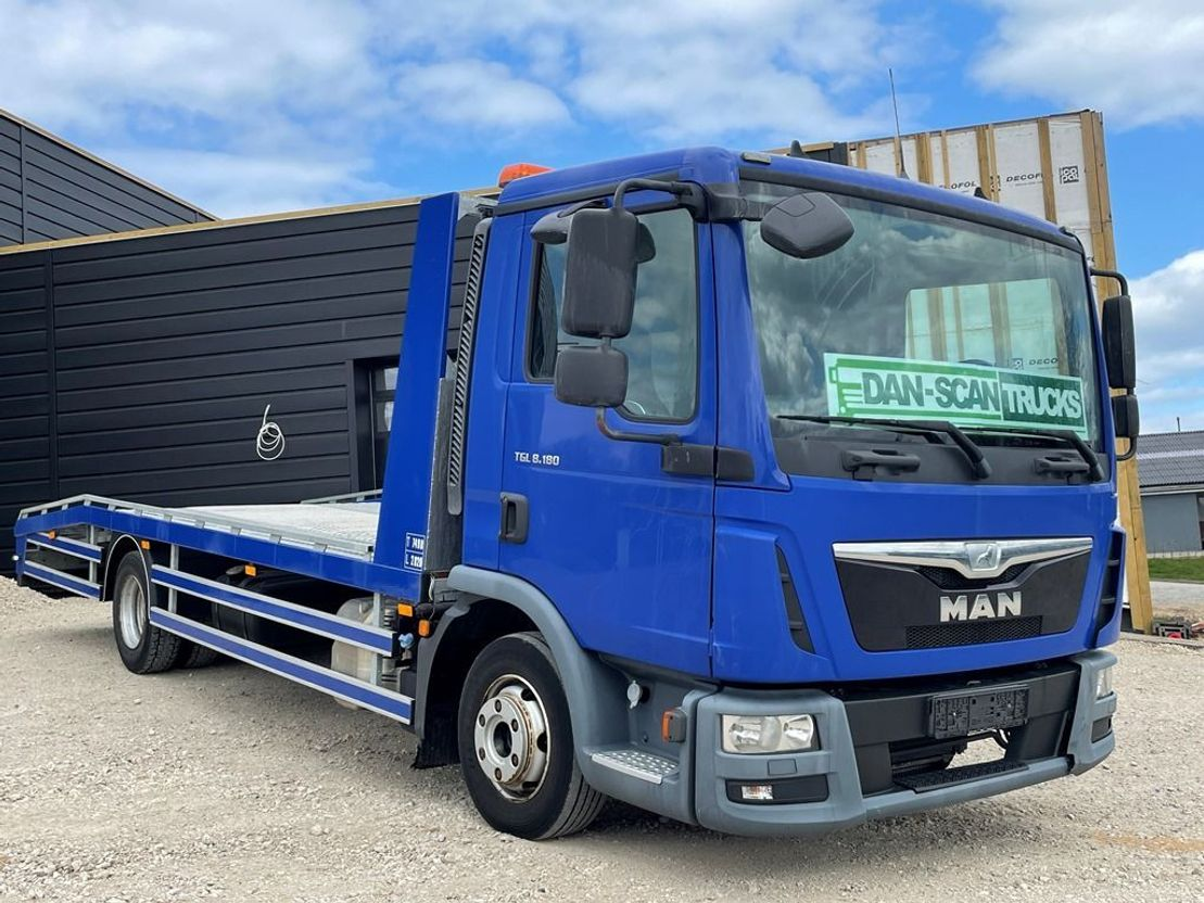 autotransporter vrachtwagen MAN TGL 8 Like new Car Transporter 2014