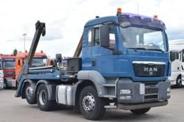 containersysteem vrachtwagen MAN TGS 26 6x2 Absetzkipper VDL ASK18 Lift AHK 2008