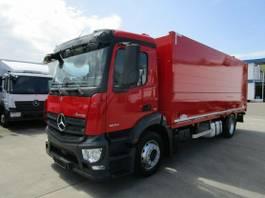 bakwagen vrachtwagen Mercedes-Benz 1832 L Getränkekoffer 6,20 m LBW 1,5 to. 2015