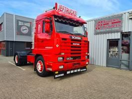standaard trekker Scania Scania 143-420 topline showtruck!!!!! 1995