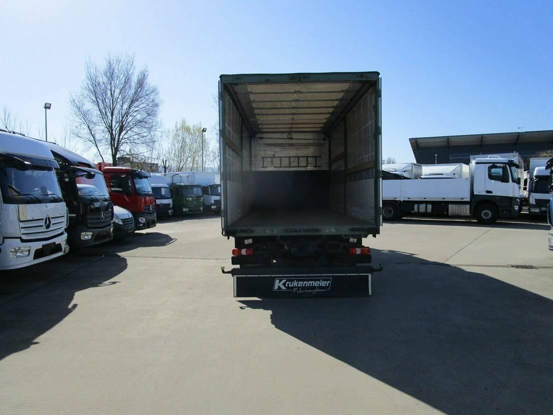 platform vrachtwagen Mercedes-Benz Actros 1842 L Schlafkabine Pritsche/Plane 6,20 m 2013