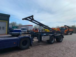 container chassis oplegger Pacton T2-003 20FT Tipper trailer 2006