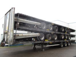 chassis oplegger LAG 5 Stack MEGA trailers , 3 BPW Axles , 2 driving positions , Drum Brakes ... 2010