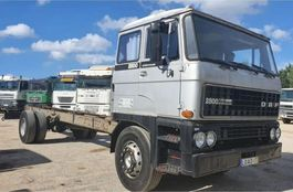 chassis cabine vrachtwagen DAF 2800 Turbo Intercooling - Big Axles - 78000km 1983
