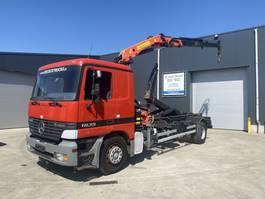 containersysteem vrachtwagen Mercedes-Benz ACTROS 1835 HAAK + KRAAN PK13000