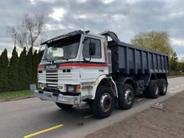 kipper vrachtwagen > 7.5 t Scania P113 MANUAL STEEL SPRING 1993