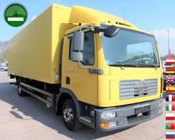 bakwagen vrachtwagen MAN TGL 12 4x2 BL LBW AHK 2008