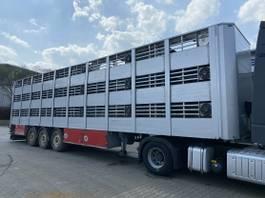 overige opleggers Lecitrailer 3E20 Tier- Viehtransport 3 Achse 3 Stock 2015