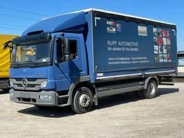 huifzeil vrachtwagen Mercedes-Benz Atego 1224 1224L Pritsche 6,20m 2013