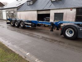 container chassis oplegger D-TEC Flexitrailer 2015