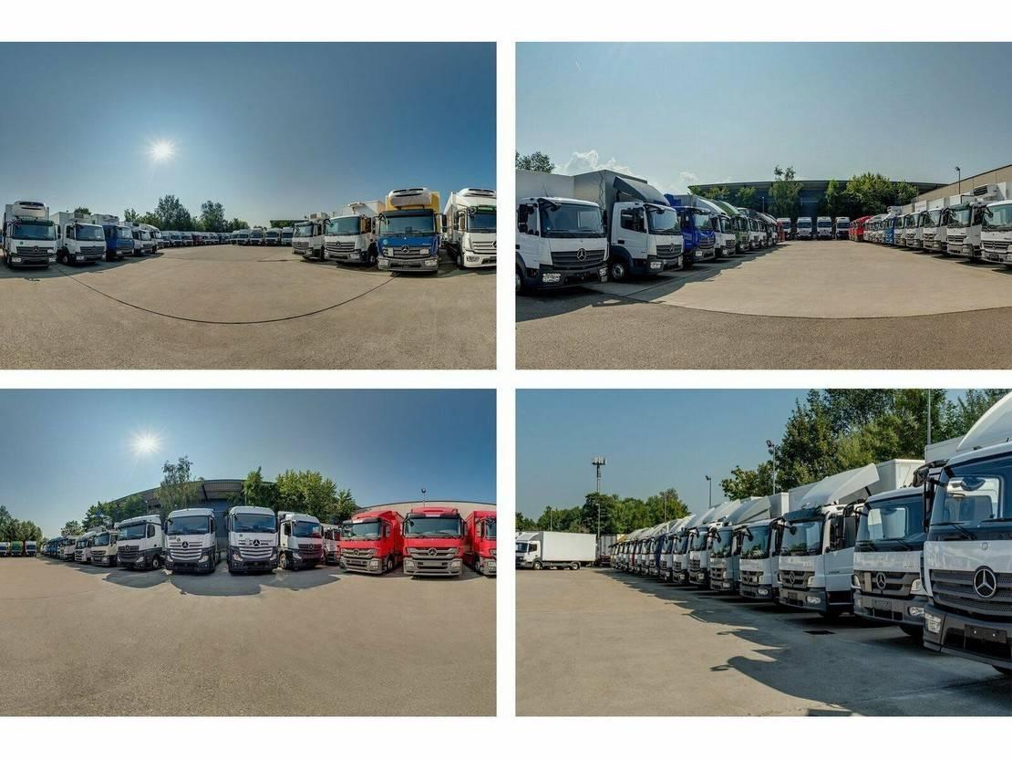 platform vrachtwagen Mercedes-Benz Atego 1224 L PR./PLANE 7,3m LBW BÄR 1,5 T*AHK 2017