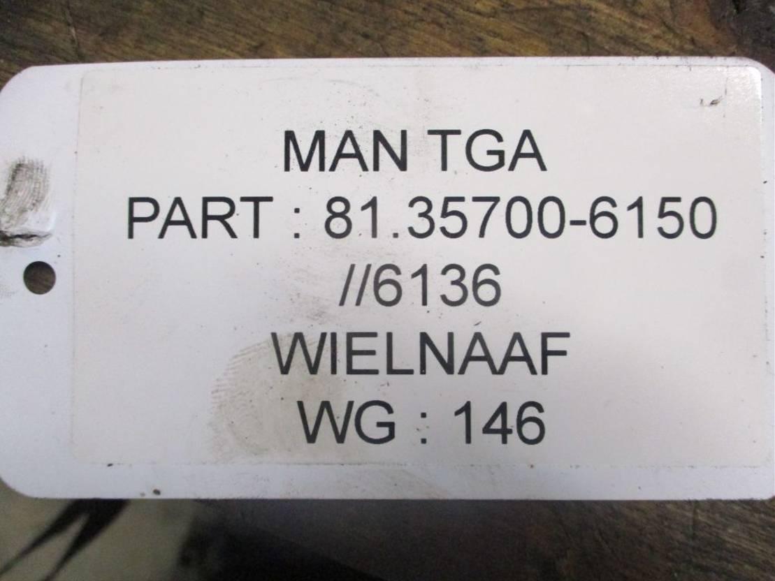 Naaf vrachtwagen onderdeel MAN 81.35700-6150 WIELNAAF