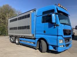 schuifzeil vrachtwagen MAN TGX 26 XXL  6X2 BL Lift-Lenk  Rolgordijn 2013