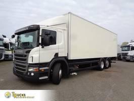 bakwagen vrachtwagen Scania P320 + Euro 5 + Dhollandia lift 2012