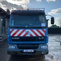 bakwagen vrachtwagen DAF LF 55 2004