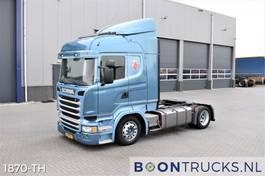 mega-volume trekker Scania R410 4x2   EURO6 * LOW DECK * RETARDER * FULL AIR * APK 12-2021 2014
