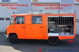 overige personenwagens Mercedes-Benz 608 D LF8 Feuerwehr Ziegler 7-Sitzer Löschpumpe 1984