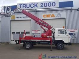 hoogwerker bedrijfswagen MAN 6.100 Denka Lift 23,5m+seitlich 11,3m aus 1.Hand 1993