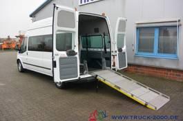 minivan - personenbus Ford 125T300 6 Sitze & Rollstuhlrampe 1.Hand 2014