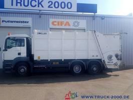 vuilkar camion MAN TGS 26 Zöller Medium XL22 lückenl. Scheckhe. 2009