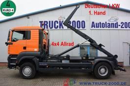 containersysteem vrachtwagen MAN TGA 18 4x4 Meiller RK 14.45 nur 278.500 Km 2006