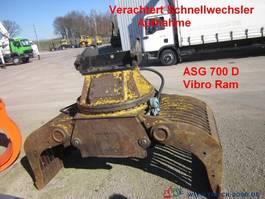 overige bouwmachine Caterpillar Vibro Ram ASG 700 D Sortiergreifer Verachtert CW 1999