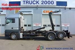 containersysteem vrachtwagen MAN TGA 26 Hiab XR21S61 21 to.Schaltgetriebe AHK 2007