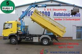 kipper vrachtwagen > 7.5 t Mercedes-Benz Atego 1318 Meiller Kran 7.25m = 960 kg 1.Hd R-CD 2012
