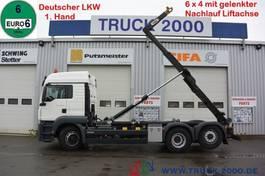 containersysteem vrachtwagen MAN TGS 26 6x4 (H) 1.Hd Scheckheft Deutsches Fzg 2015