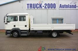 platform bedrijfswagen MAN TGL 8.180 Doppelkabine 2 x Anhängerkupplung 1.Hd 2010