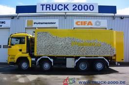 tankwagen vrachtwagen MAN TGA 35 8x4 30 m³ Spezial Pellets Kippaufbau 2006