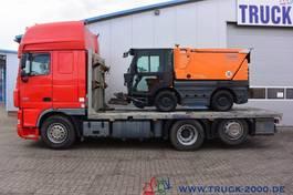 autotransporter vrachtwagen DAF XF 105 Spezial Baumaschinen Trecker Sonstige 2009