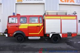 gesloten bestelwagen Iveco 75E16 A Mannschaft- Feuerwehr Löschpumpe Top 1986