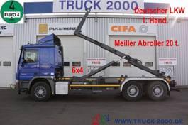 containersysteem vrachtwagen Mercedes-Benz Actros 2644 6x4 Meiller RK 20.67 20 to. 1.Hand 2013