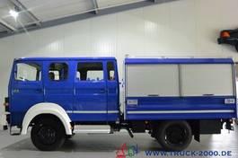 gesloten bestelwagen Iveco 90-16 Turbo 4x4 Mannschaft-Gerätewagen Neuwertig 1986