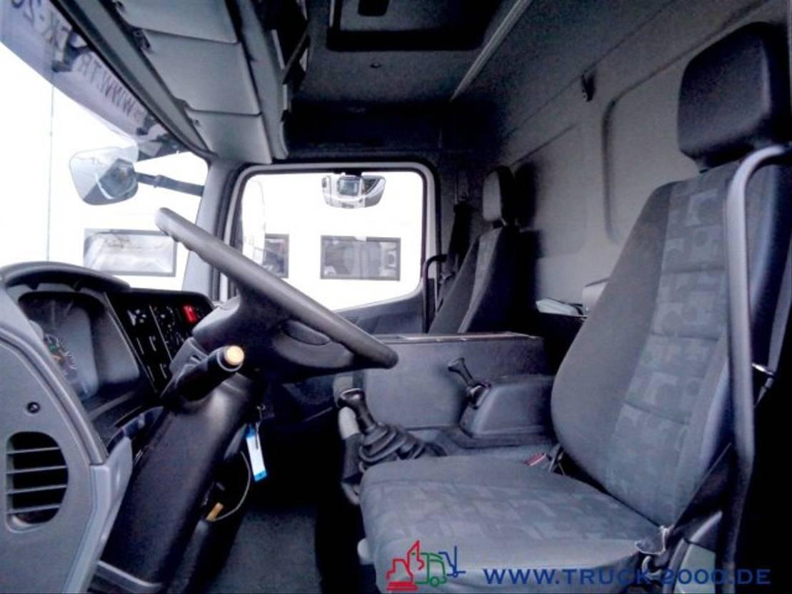 autotransporter vrachtwagen Mercedes-Benz Atego 922 Geschlossener Transport + el. Rampen 2009