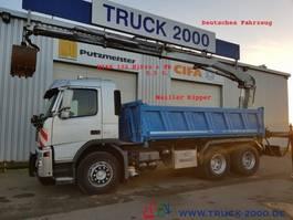 kipper vrachtwagen > 7.5 t Volvo FM 340 Meiller Hiab122 HiPro+FB+5.+6.Steuerkreis 2006