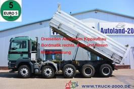 kipper vrachtwagen > 7.5 t MAN TGS 41 10x4 3 - Kipper Bordmatik Alufelgen 2013