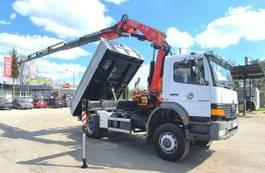 kipper vrachtwagen > 7.5 t Mercedes-Benz Atego 1828 4x4 FASSI F175A 2006 !! Crane Kipper 2000
