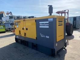 generator Atlas Copco QAS 150 Volvo Mecc Alte Spa 150 kVA Supersilent Rental generatorset 2007