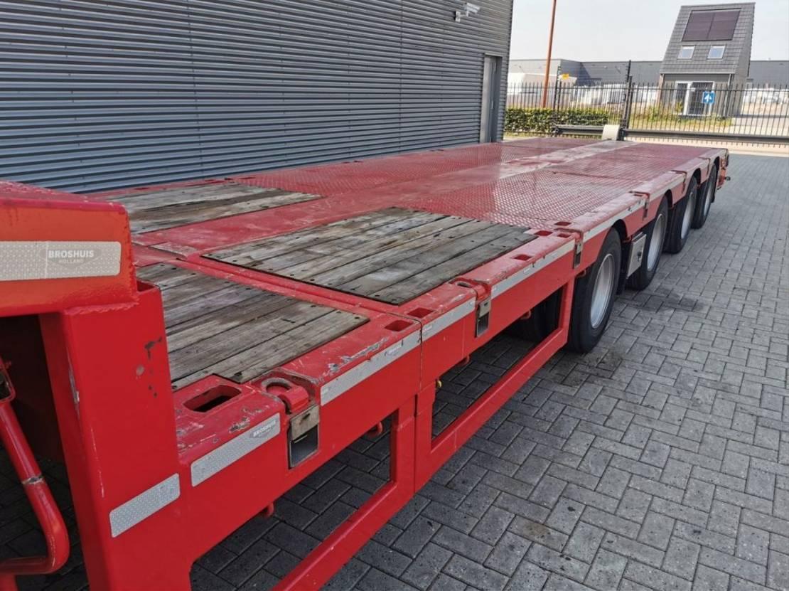 semi dieplader oplegger Broshuis 4SLA 6.5 M Extand. SLair axles! 2017