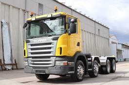 chassis cabine vrachtwagen Scania G480 8x4 Retarder E5 2009