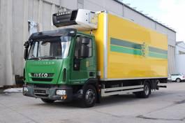 koelwagen vrachtwagen Iveco EuroCargo 100 100E22 E5 Carrier 750Multi Bi-Temp. 2011