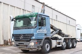 containersysteem vrachtwagen Mercedes-Benz Actros 3244 E5 8x4 Tridem Analog Tacho 2006