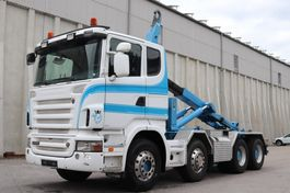 containersysteem vrachtwagen Scania R500 8x4 Manuell V8 AHK E5 Leasing 2008