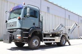 containersysteem vrachtwagen MAN TGA 18 4x4 Welaki E4 Reifen 80% 2006
