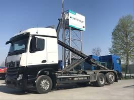 containersysteem vrachtwagen Mercedes-Benz Actros 2542 02.2021 LEuro 6 Meiller Abroller RK 2070 2013