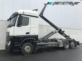 containersysteem vrachtwagen Mercedes-Benz 07.2022 LEuro 6 Meiller Abroller RK 2070 2013