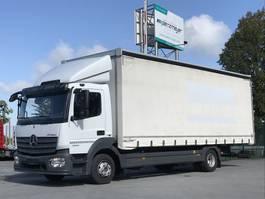 huifzeil vrachtwagen Mercedes-Benz Atego 1224 06.2021 1224L niedr.Rahmen, 6 Zyl. AHK, Schaltgetr. Klima, Diff-sperre, ... 2015